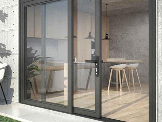 Sliding doors from Precision Windows - McKinney, TX